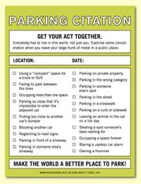Parkingcitation